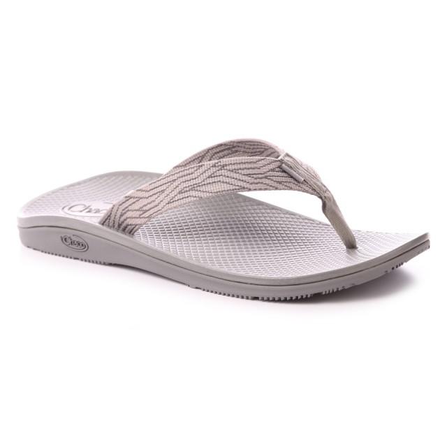 【CHACO】男 CLASSIC FLIP夾腳拖鞋CH-CFM01HH21(蛇紋灰)