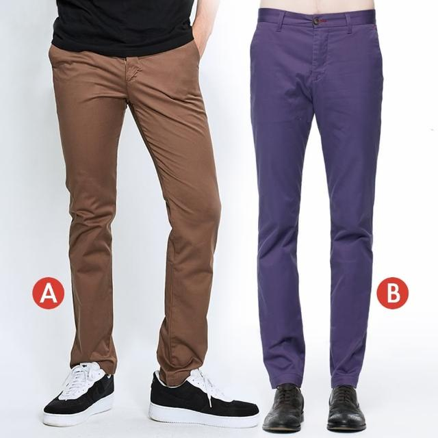 【BRAPPERS】男款 舒適柔軟萊卡彈性休閒褲(多款選)