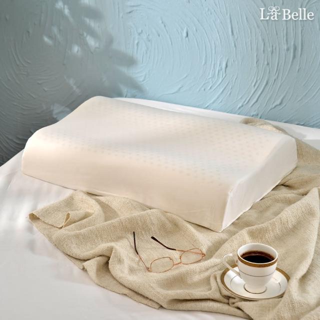 【La Belle】《斯里蘭卡天然透氣工學舒壓乳膠枕》(一入)
