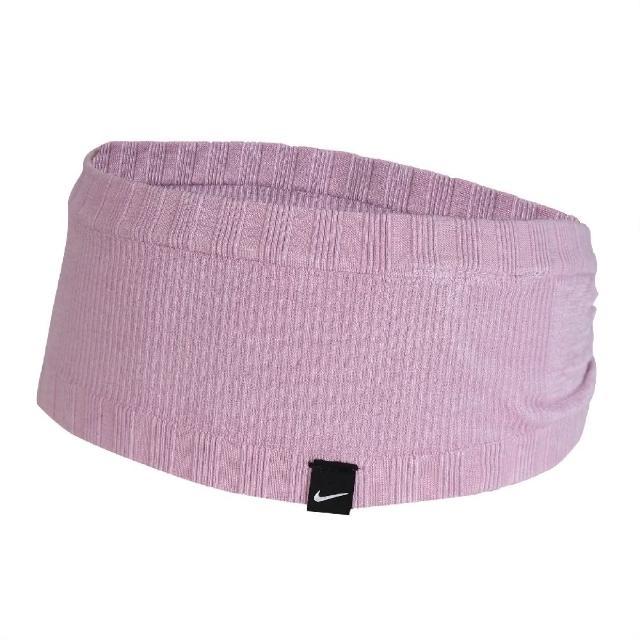 【NIKE 耐吉】頭帶 Seamless Headband 男女款 無縫 運動休閒 吸汗 球類運動 跑步 紫 黑(N100057650-5OS)