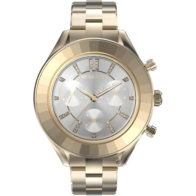 【SWAROVSKI 施華洛世奇】Octea Lux Chrono手錶(5610517)