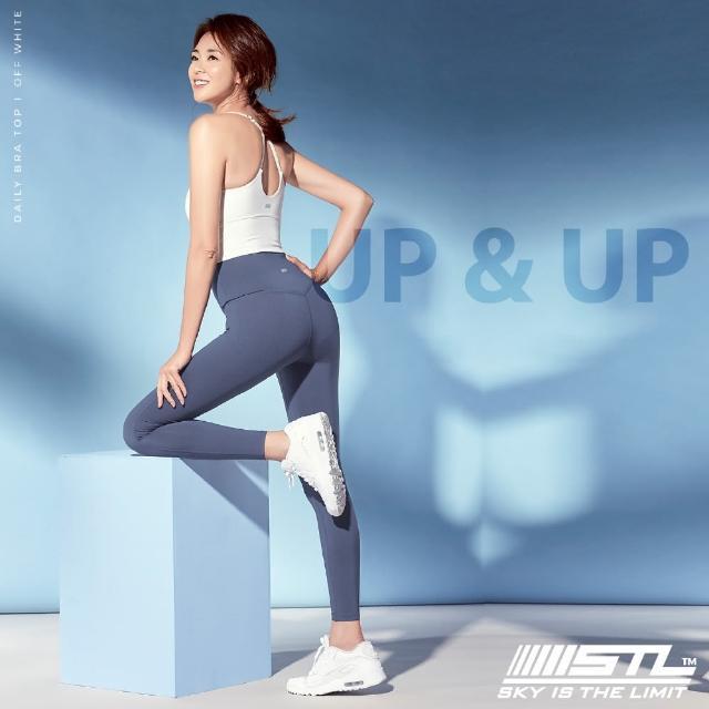 【STL】yoga legging 9 UP&UP 韓國瑜珈 運動機能超高腰拉提訓練緊身長褲(寶寶藍CadetBlue)
