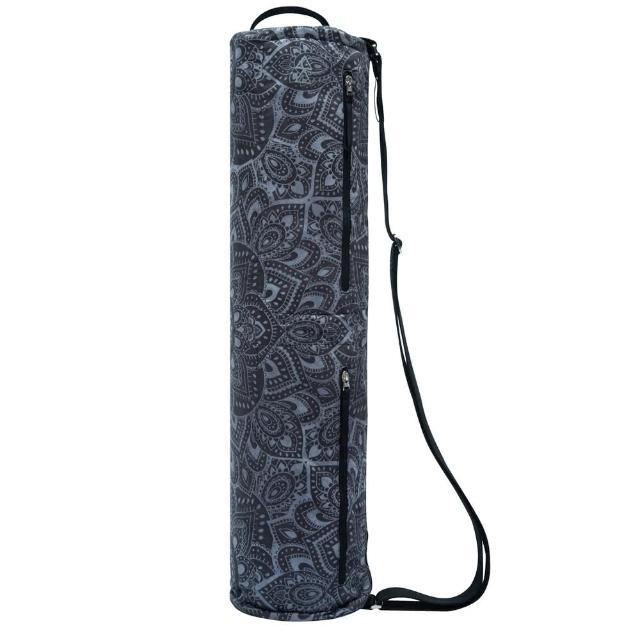 【Yoga Design Lab】多功能瑜珈墊收納揹袋 - Mandala Charcoal(瑜珈墊揹袋)