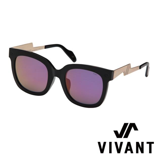 【VIVANT】韓國 潮流質感大框 顯小臉 D OR太陽眼鏡(黑 - DOR BLK)