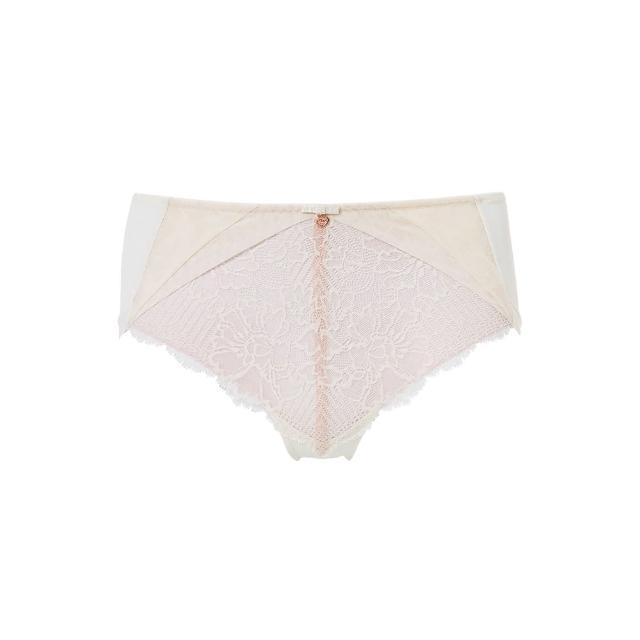 【Triumph 黛安芬】FLORALE熱艷麗菊系列 超細纖維中腰平口內褲 M-EEL(典雅白)