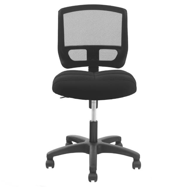 【DR. AIR】人體工學氣墊椅墊辦公網椅-2108(黑)
