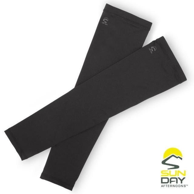 【BUFF】抗UV透氣涼感袖套 手腕 黑 UVShield Cool Sleeves(SAS2A64649B-305/防曬/遮陽)