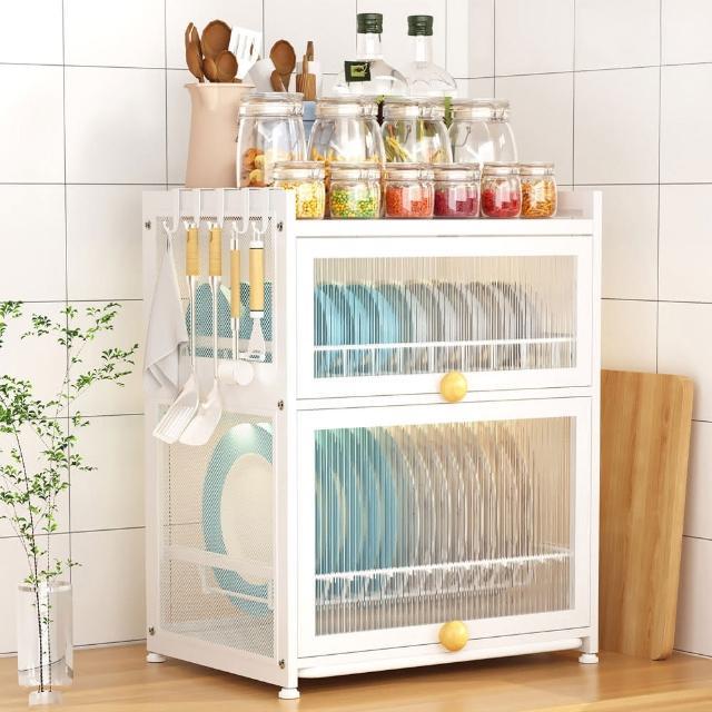 【AOTTO】單槽-廚房不銹鋼水槽瀝水架 水槽架(廚房收納架 置物架)