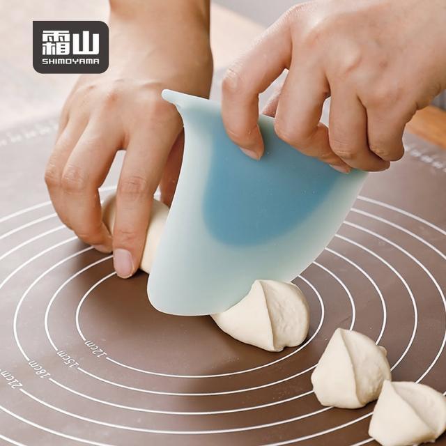 【SHIMOYAMA 日本霜山】鯊魚鰭造型料理烘焙矽膠刮板(可吊掛收納 IF設計大獎 矽膠刮刀)