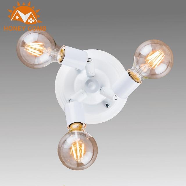 【Honey Comb】工業風3燈壁燈(BL-32011)