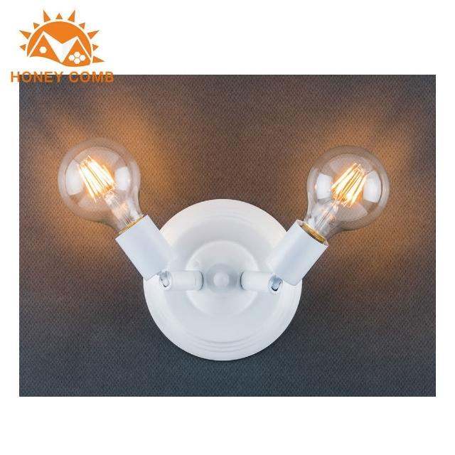 【Honey Comb】工業風2燈壁燈(BL-32012)