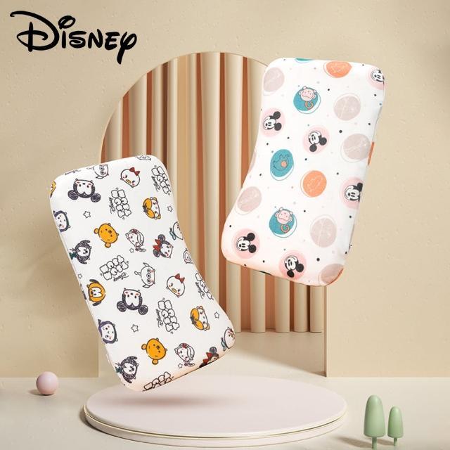 【Disney 迪士尼】兒童枕頭夏季寶寶透氣嬰兒小枕頭防扁頭吸汗新生兒四季通用(米奇 米妮 維尼 定型枕)