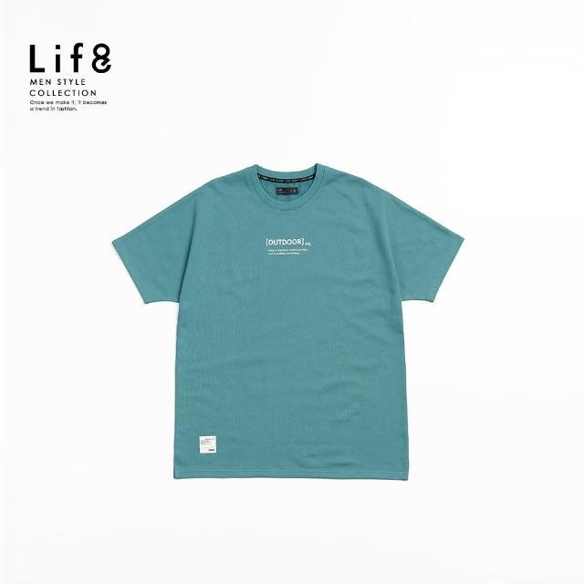 【Life8】Casual 二片式 印花短袖上衣-寬版(10529)
