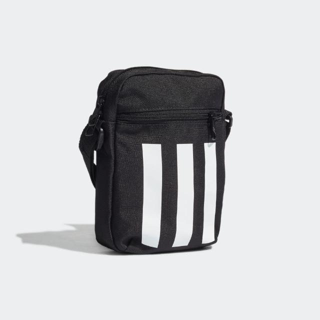 【adidas 愛迪達】Adidas 3s Organizer 斜背包 斜背 方便 收納 可調 肩帶 輕量 隨身 黑(GN1928)
