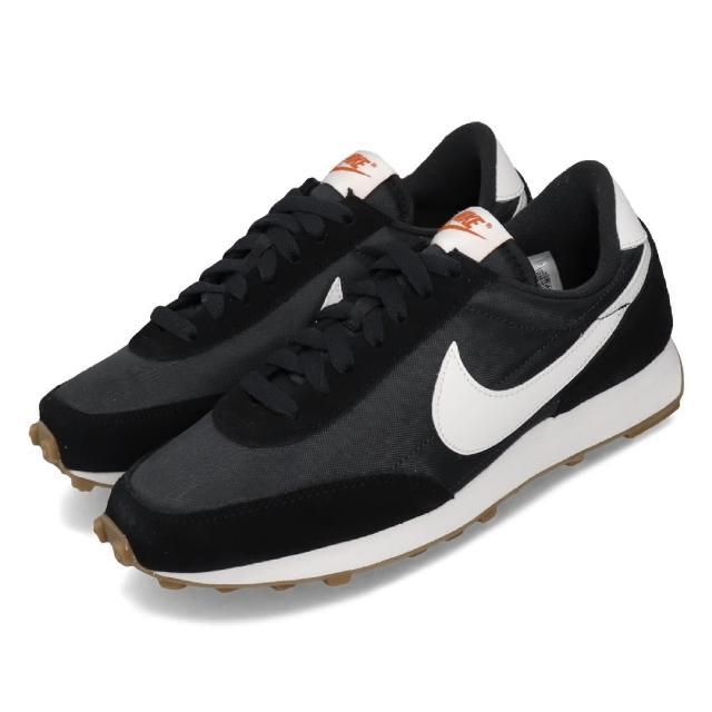 【NIKE 耐吉】休閒鞋 Daybreak 低筒 運動 女鞋 經典款 復古 球鞋穿搭 簡約 舒適 麂皮 黑 白(CK2351-001)