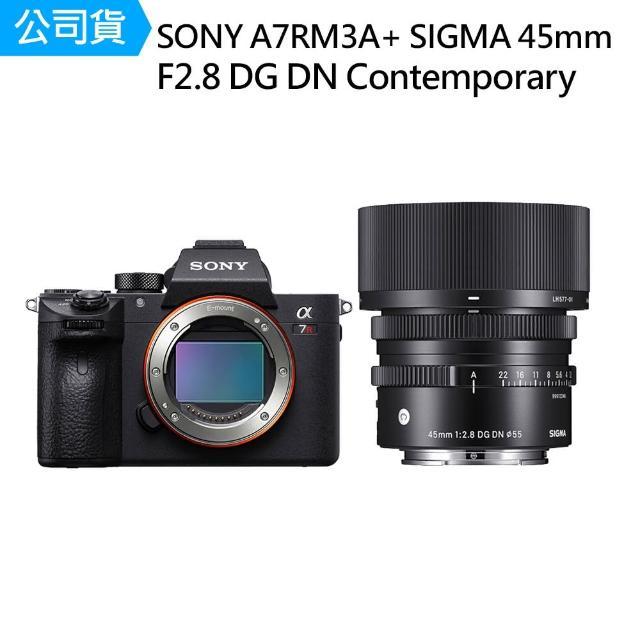 【SONY 索尼】ILCE-7RM3A A7RM3A + Sigma 45mm F2.8 DG DN Contemporary(公司貨)