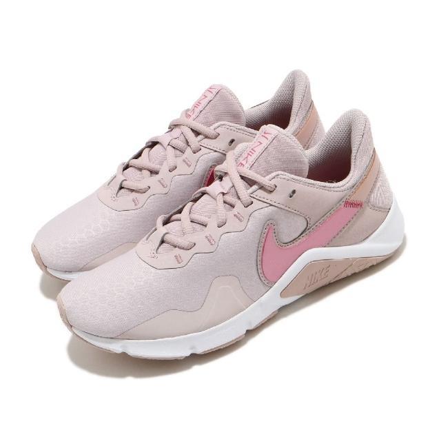 【NIKE 耐吉】訓練鞋 Legend Essential 2 女鞋 多功能 健身房 支撐 穩定 運動 球鞋 粉 白(CQ9545-003)
