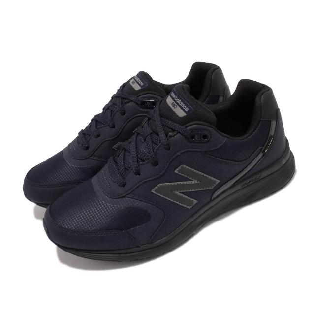 【NEW BALANCE】休閒鞋 880 Wide 寬楦 復古 男鞋 紐巴倫 皮革 GTX 緩震 耐磨膠底 藍(MW880GD4-2E)