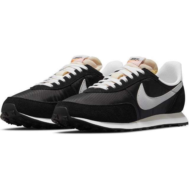 【NIKE 耐吉】休閒鞋 男鞋 運動鞋 復古 WAFFLE TRAINER 2 黑(DH1349001)
