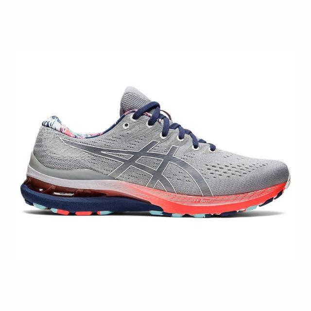 【asics 亞瑟士】Asics Gel-kayano 28 男鞋 慢跑鞋 運動 休閒 輕量 支撐 緩衝 彈力 灰(1011B310-960)