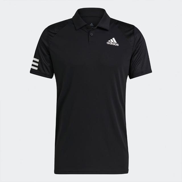 【adidas 愛迪達】adidas POLO 男運動短袖上衣 GL5421