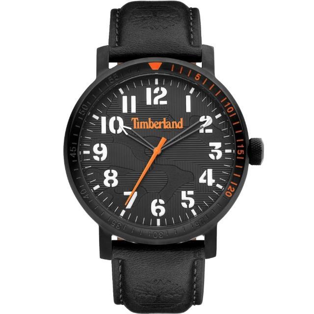 【Timberland】天柏嵐 都會時尚大三針手錶-44mm(TDWGA2101603)