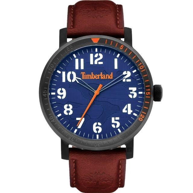 【Timberland】天柏嵐 都會時尚大三針手錶-44mm(TDWGA2101602)