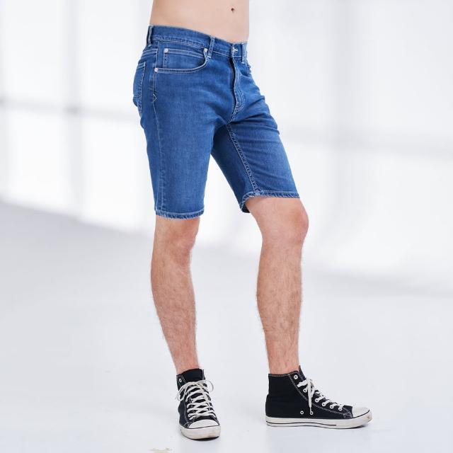 【Lee】902 薄款涼感 男牛仔短褲