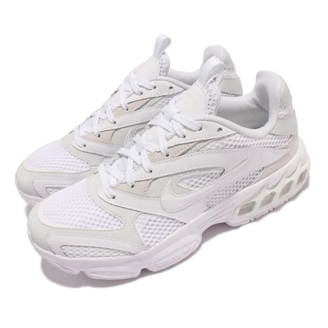 【NIKE 耐吉】休閒鞋 Zoom Air Fire 運動 女鞋 氣墊 避震 復古風格 小白鞋 穿搭 白(CW3876-002)