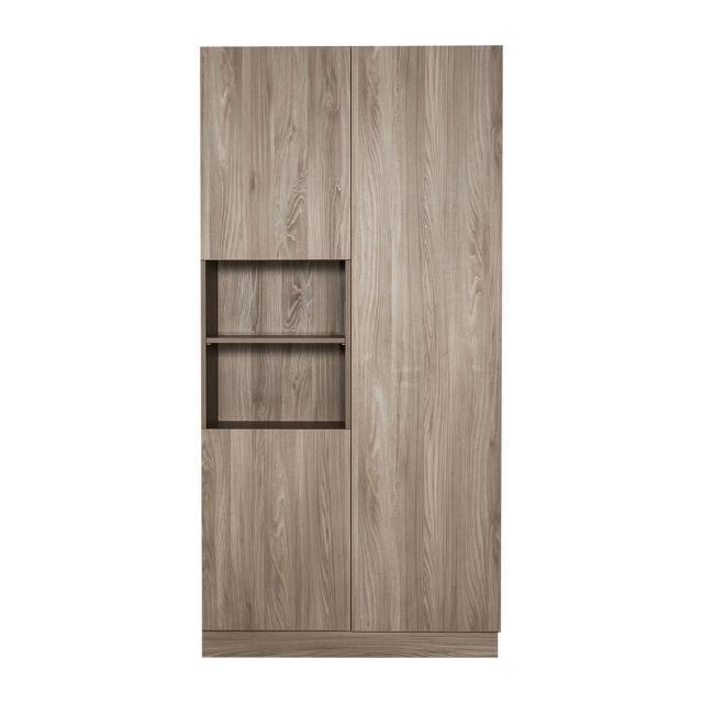 【Arkhouse】伯利恆系列-餐廳三門十二格雙高櫃A款加大W120*H218*D40