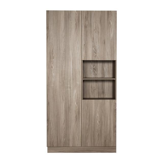 【Arkhouse】伯利恆系列-餐廳三門十二格雙高櫃B款加大W120*H218*D40