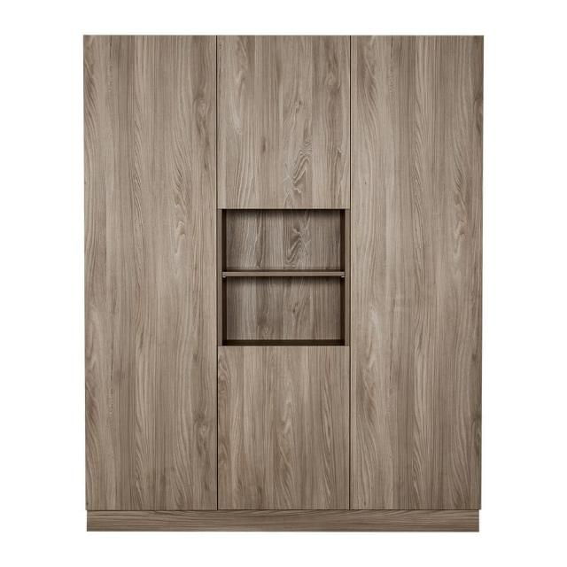 【Arkhouse】伯利恆系列-餐廳四門十八格三高櫃D款加大W180*H218*D40
