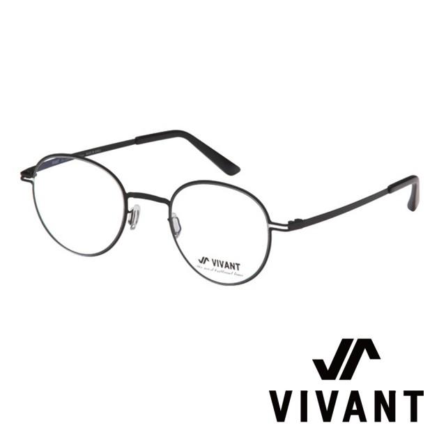 【VIVANT】韓國 正圓框 文青系列 光學眼鏡(.黑 primier-II C1)