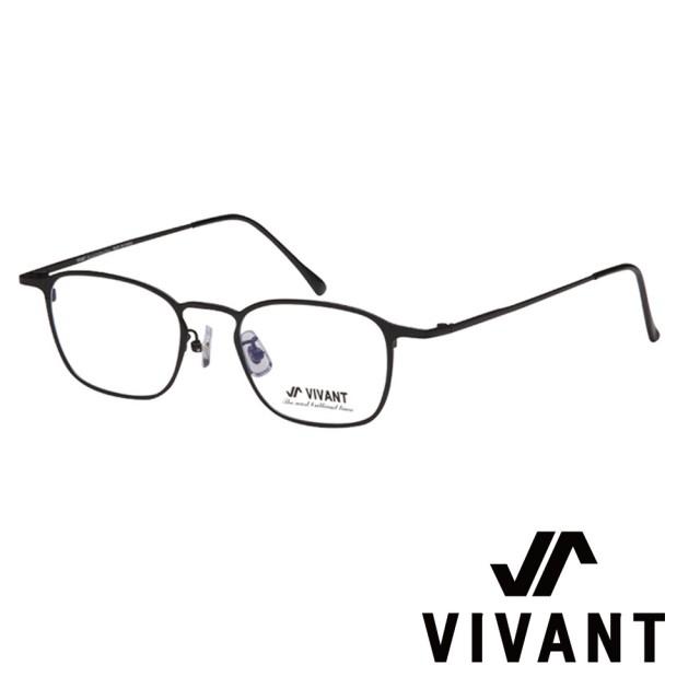 【VIVANT】韓國. 時尚都會方框 光學眼鏡(.黑 lueur C1)