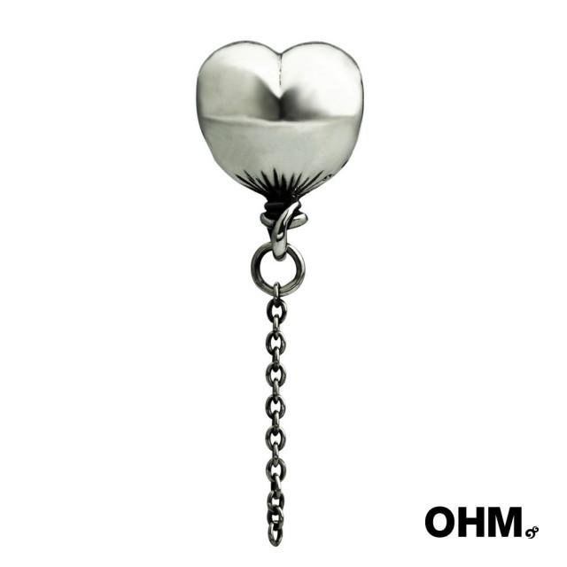 【OHM Beads】純銀串珠(愛心氣球/Puff A Heart)