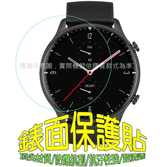 Samsung Galaxy Watch 4 軟性塑鋼防爆錶面保護貼(二入裝)