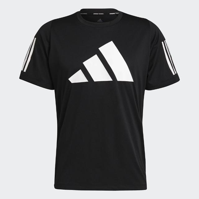 【adidas 愛迪達】上衣 男款 運動 健身 慢跑 短袖上衣 FREELIFT 黑 GL8920
