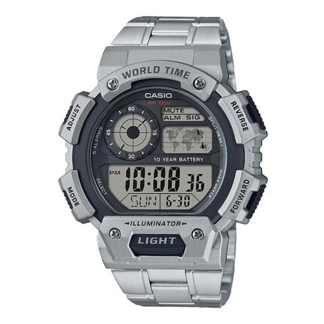 【CASIO 卡西歐】多元STANDARD電子錶系列(AE-1400WHD-1A)