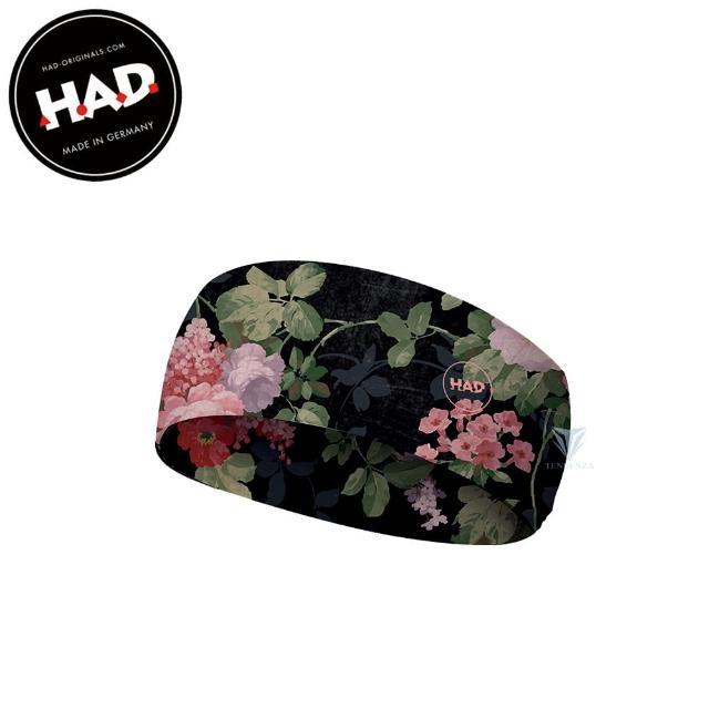 【德國 HAD】HA651 抗UV舒適頭帶Coolmax - 花(吸濕排汗頭帶/抗UV/Coolmax)