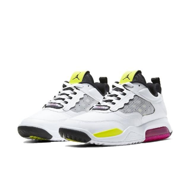 【NIKE 耐吉】休閒鞋 Jordan Max 200 運動 男鞋 氣墊 避震 喬丹 舒適 球鞋 穿搭 白 黑(CD6105-102)