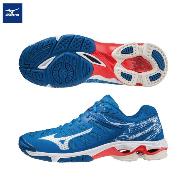 【MIZUNO 美津濃】WAVE VOLTAGE 排球鞋 V1GA216024(排球鞋)