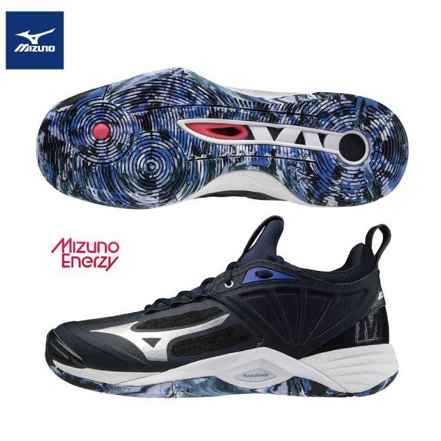 【MIZUNO 美津濃】WAVE MOMENTUM 2 排球鞋 V1GA211202(排球鞋)