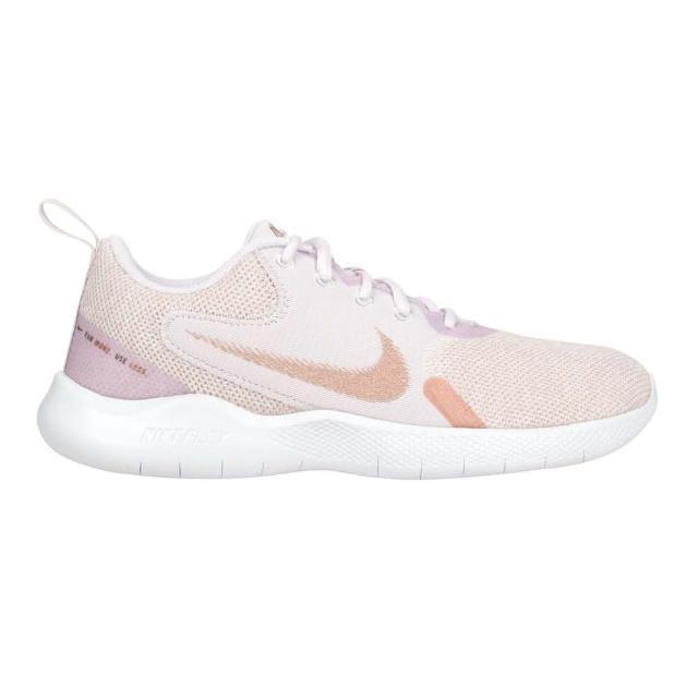 【NIKE 耐吉】WMNS FLEX EXPERIENCE RN 10女運動休閒鞋 紫粉玫瑰金(CI9964600)