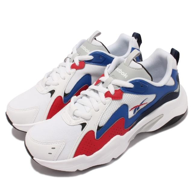 【REEBOK】休閒鞋 Royal Turbo Impuls 男女鞋 復古 厚底 休閒 舒適 避震 情侶穿搭 白 藍(EG9407)