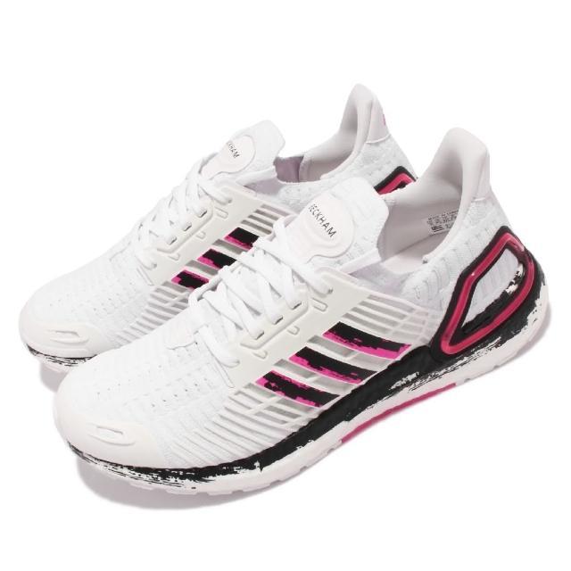 【adidas 愛迪達】慢跑鞋UltraBoost CC_1 DNA 男女鞋 愛迪達 貝克漢 聯名 運動 避震 情侶款 白粉(GX7990)