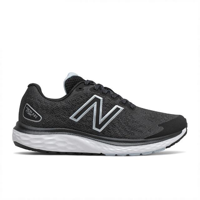 【NEW BALANCE】NB 慢跑鞋 女鞋 運動鞋 緩震 黑 W680LK7-D楦