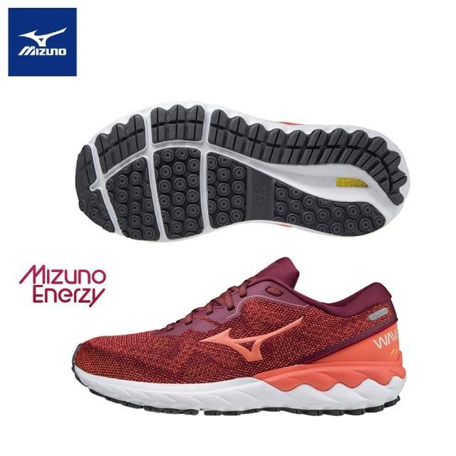 【MIZUNO 美津濃】WAVE SKYRISE 2 一型女款慢跑鞋 J1GD210963(慢跑鞋)