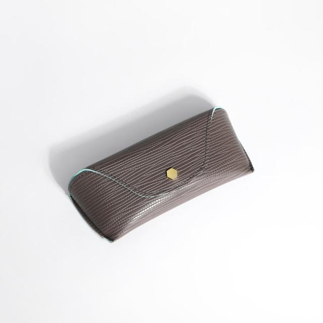 【ZANZAN 冉冉】攜帶型防壓眼鏡盒-咖(眼鏡盒)