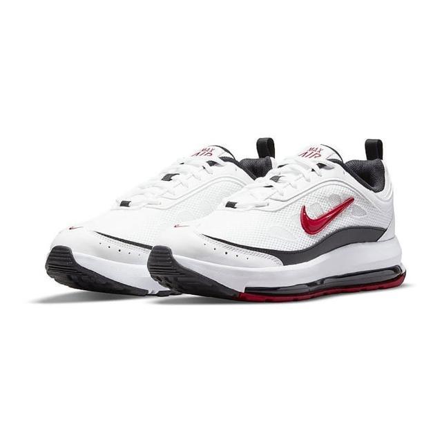 【NIKE 耐吉】運動鞋 男鞋 慢跑 氣墊 緩震 AIR MAX AP 白紅 CU4826-101