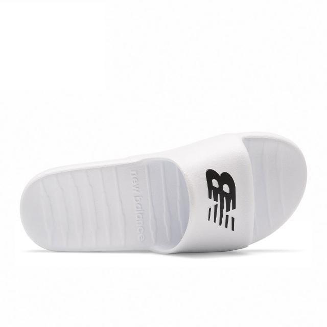 【NEW BALANCE】New Balance 男女款白色休閒涼拖鞋-NO.suf100tw